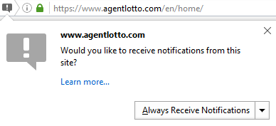 How to enable push-notifications on your browser?