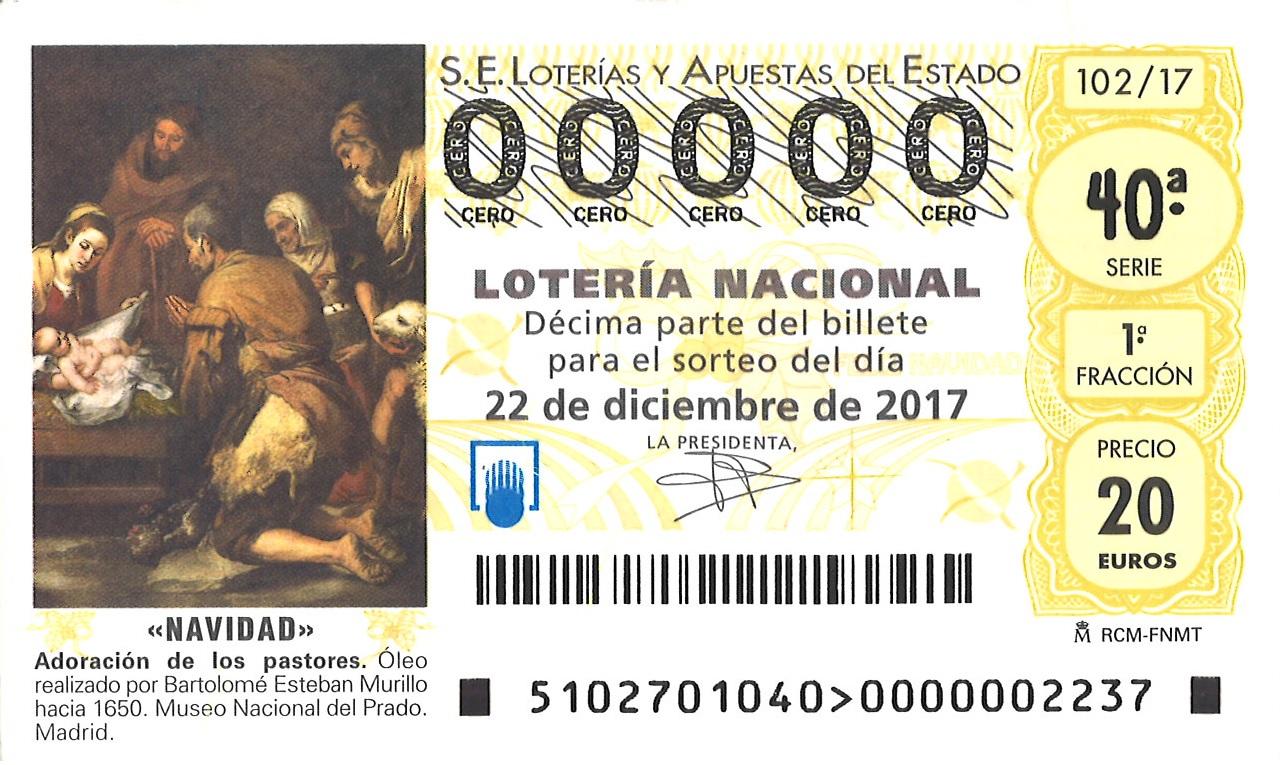 Лотерея Lotería de Navidad в 2017: главный розыгрыш года приближается!