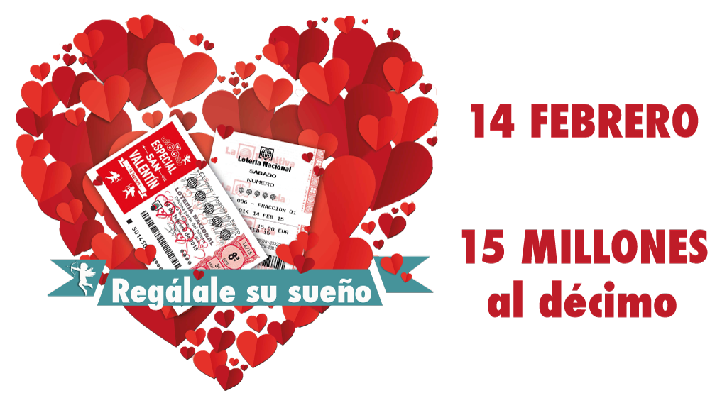 All we need is love! We've launched a new lottery dedicated to St. Valentine's Day