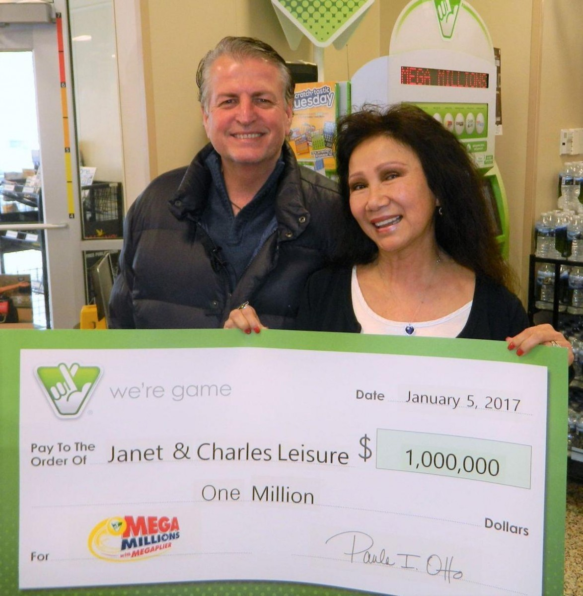 Winter 2016: MEGA Millions Winners